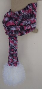 Hand knitted Posh Dog Scarf