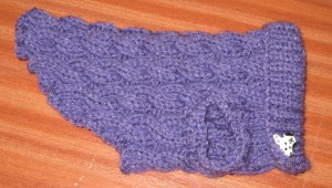 Hand-made Posh Dog Jumper 021