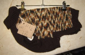 Hand-made Posh Dog Jumper 016