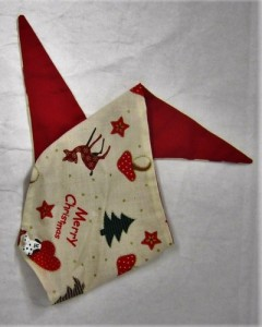 Handmade Posh Dog Bandanna 025  A Collar's for Christmas