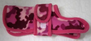 Handmade Posh Dog Fleece Coat 018