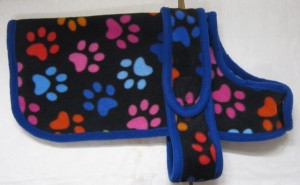 Handmade Posh Dog Fleece Coat 014