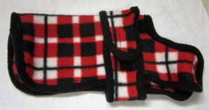 Handmade Posh Dog Fleece Coat - 032