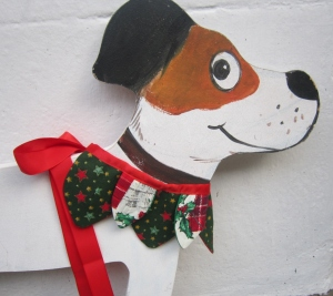 The Posh Dog Clothing Company Christmas elf collar